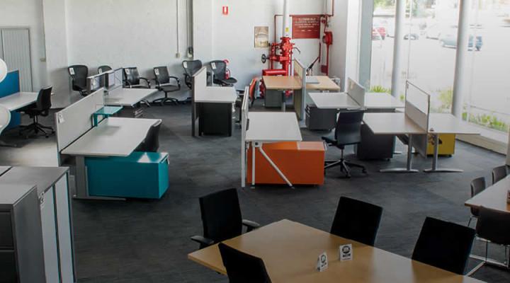 office furniture showroom