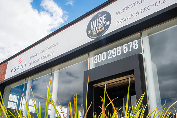 Wise Office Furniture showroom