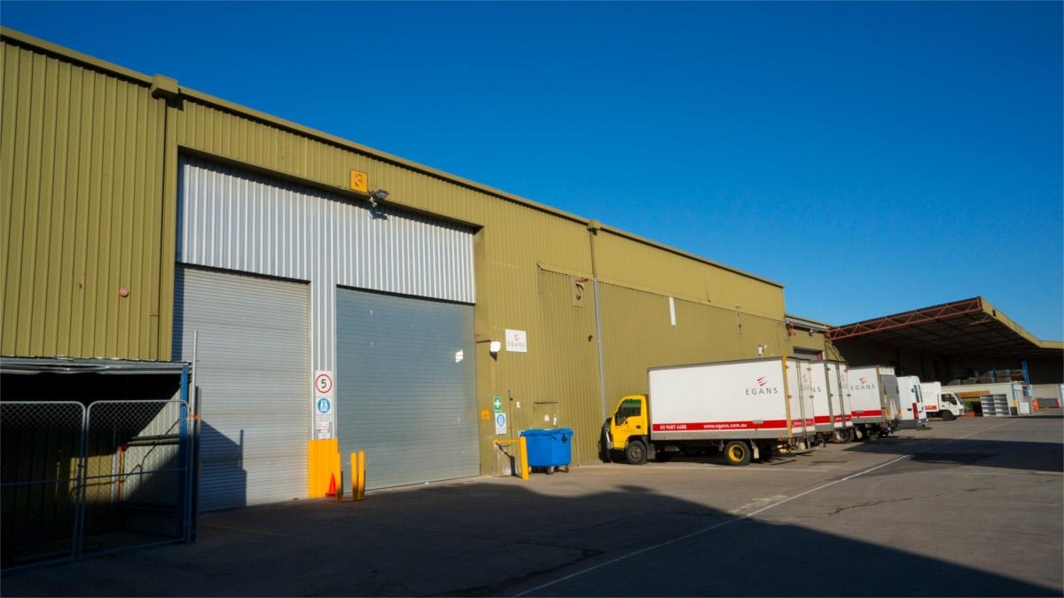 Egans storage depot