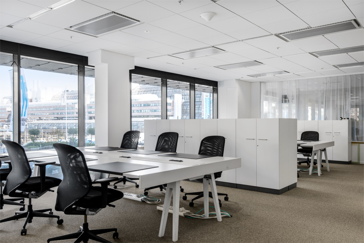 Offsite storage for your office that you can manage for Modern office spaces interior design