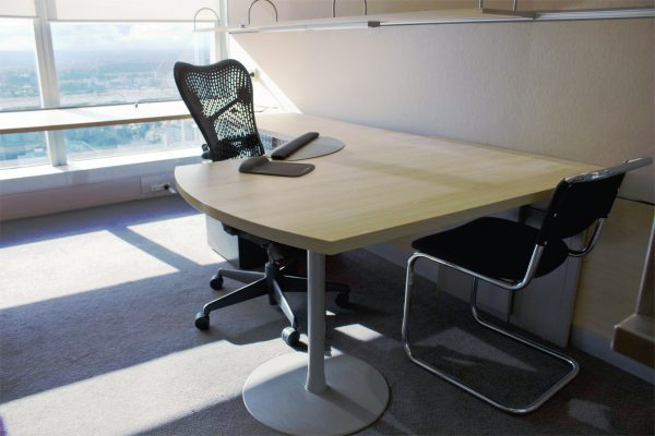 Office Desk and Mirra Chair