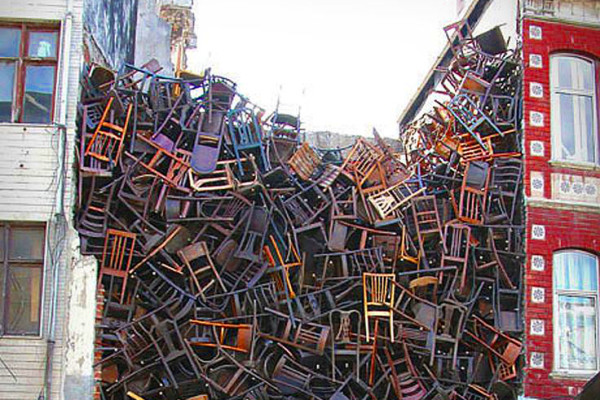 office furniture dump