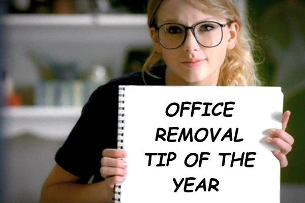 office removal tip of the year