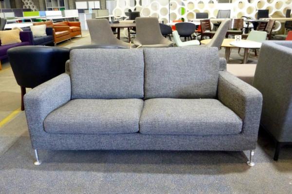 B&B Italia Harry 2 Seater Sofa grey