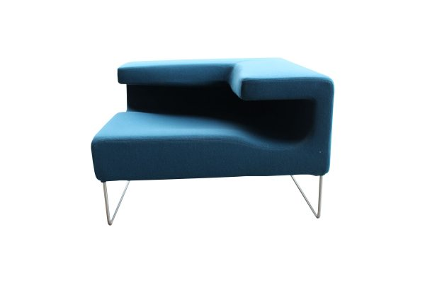 Moroso Lowseat Arm Chair Blue