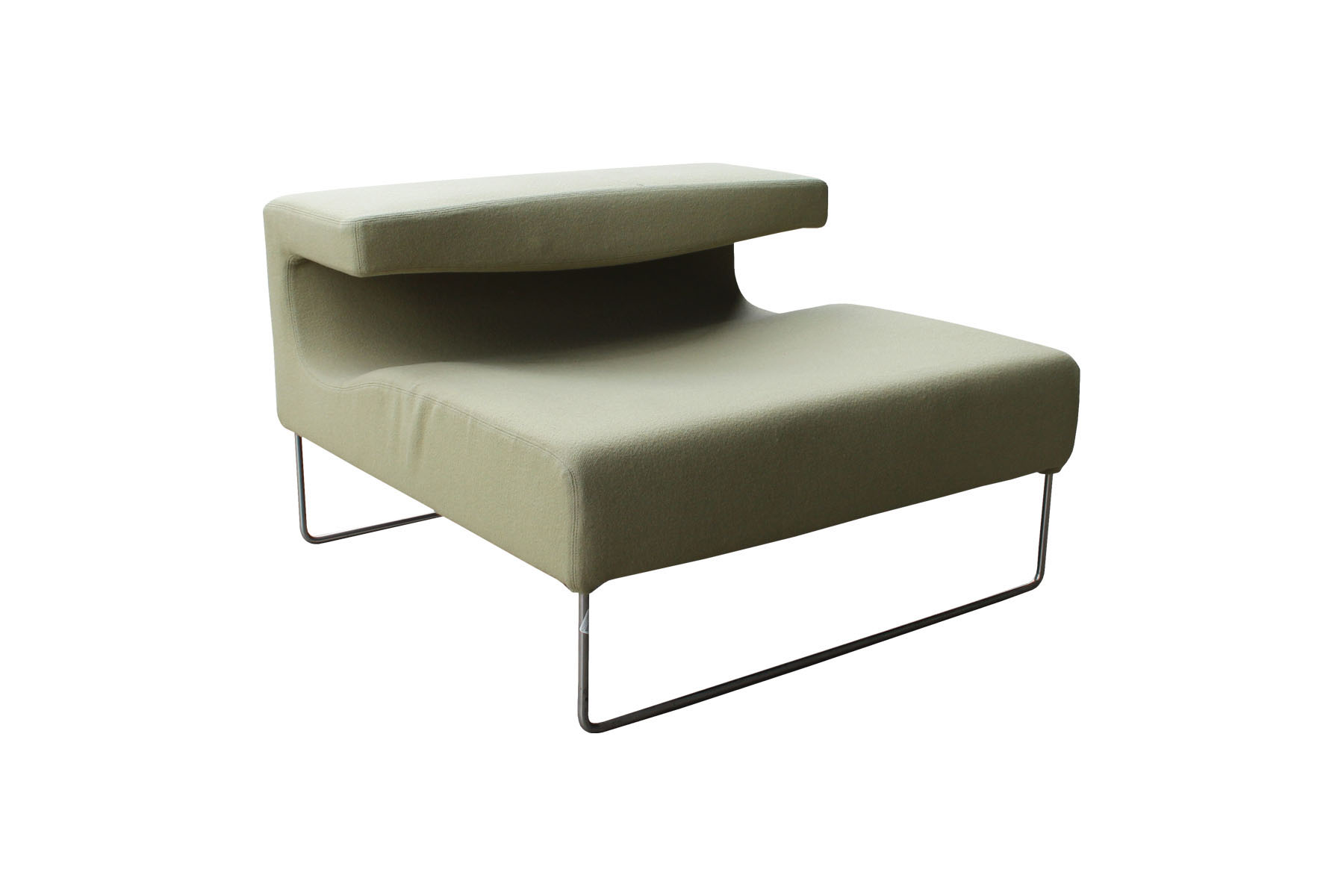 Moroso Lowseat Arm Chair Green Egans