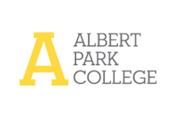Albert Park Collge logo colour