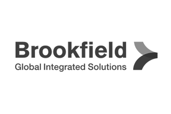 Brookfield Integrated Solutions logo grey
