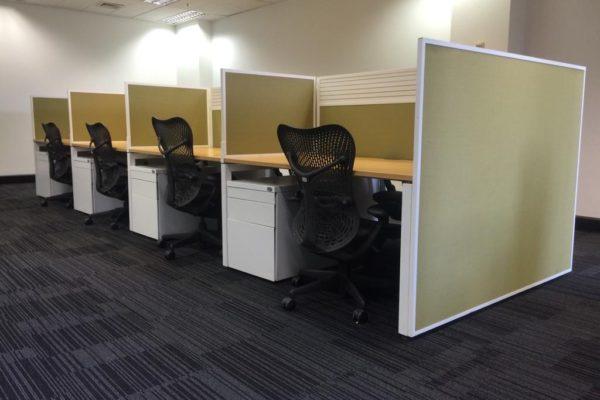 8 pod workstation