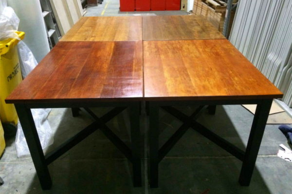 restored office tables