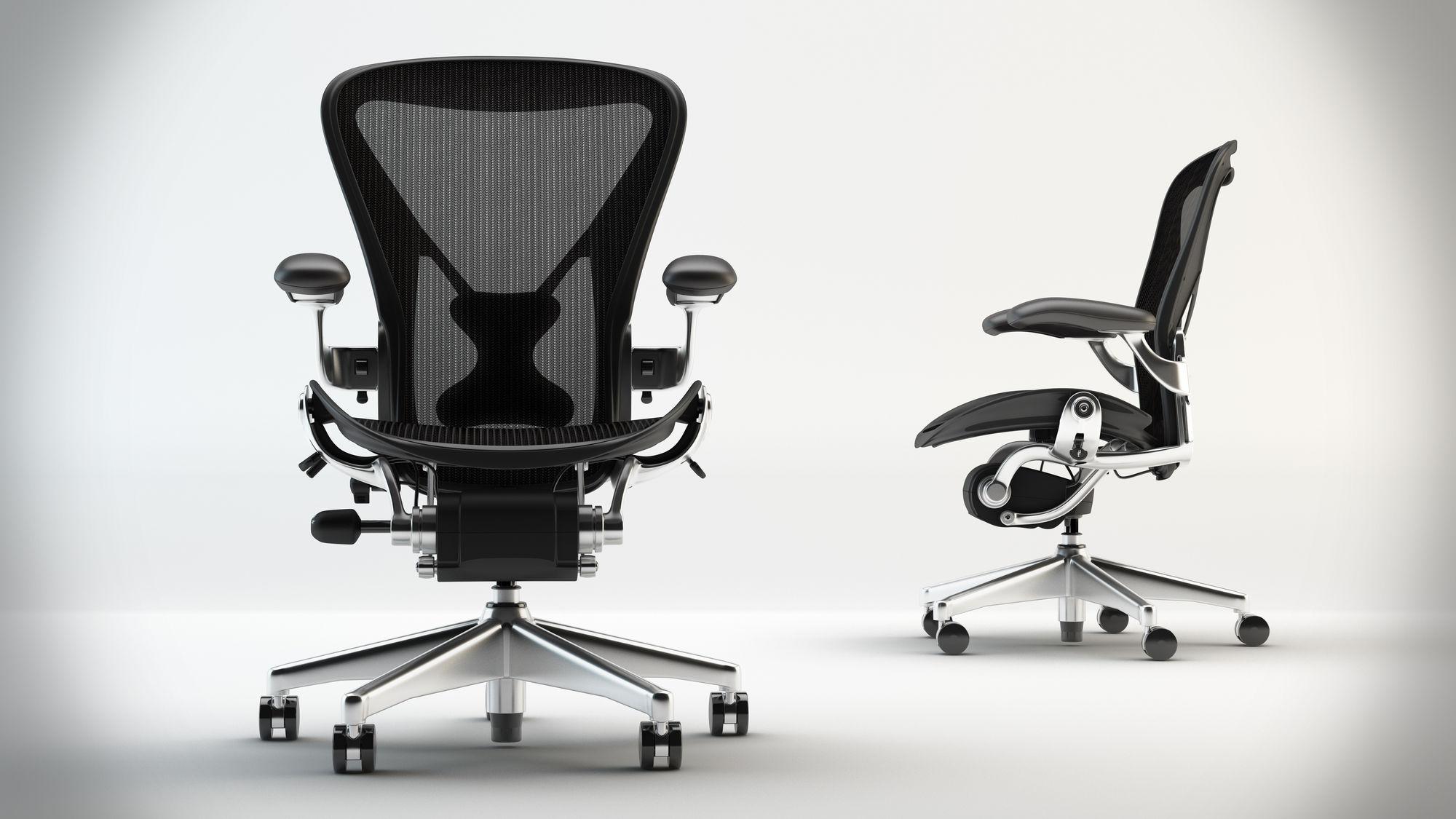 105 Herman Miller Aeron Chairs For Resale Egans