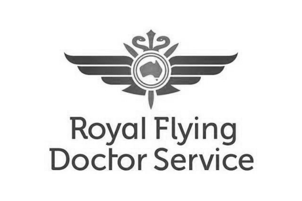 Royal Flying Doctor Service Logo desaturated