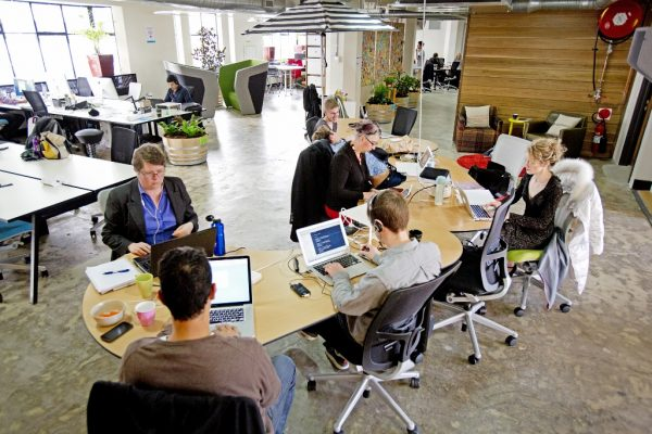 shared work spaces