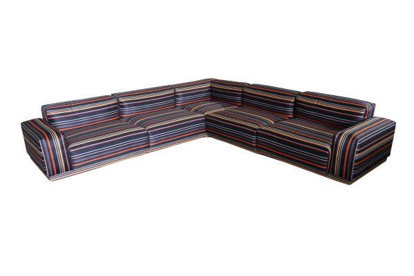 Vitra Striped Sofa