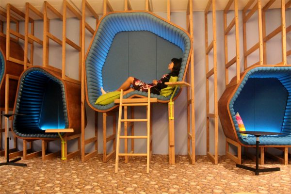 Amazing office spaces top 5 egans a shift in thinking for Google sleep pod price