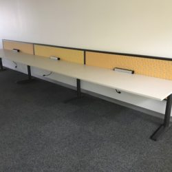straight wall office workstations