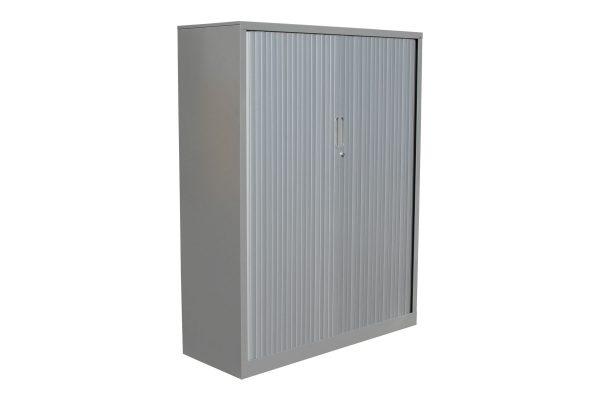 Grey Tambour Cabinet