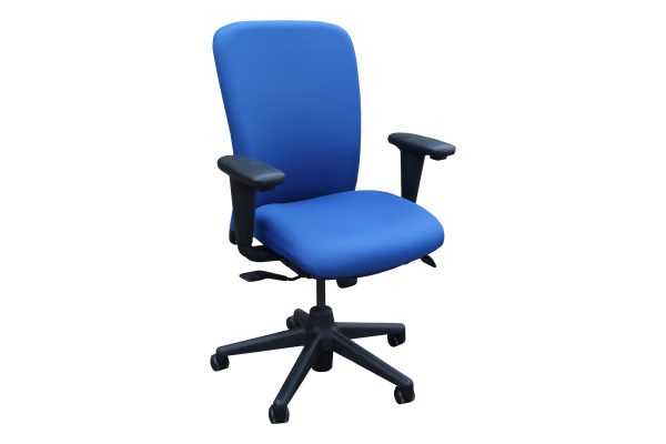 Blue Clerical Chair