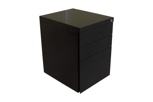 Black Mobile Pedestal