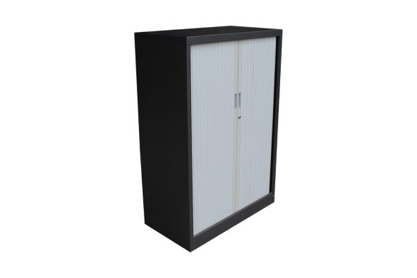 Grey Tambour Cabinet