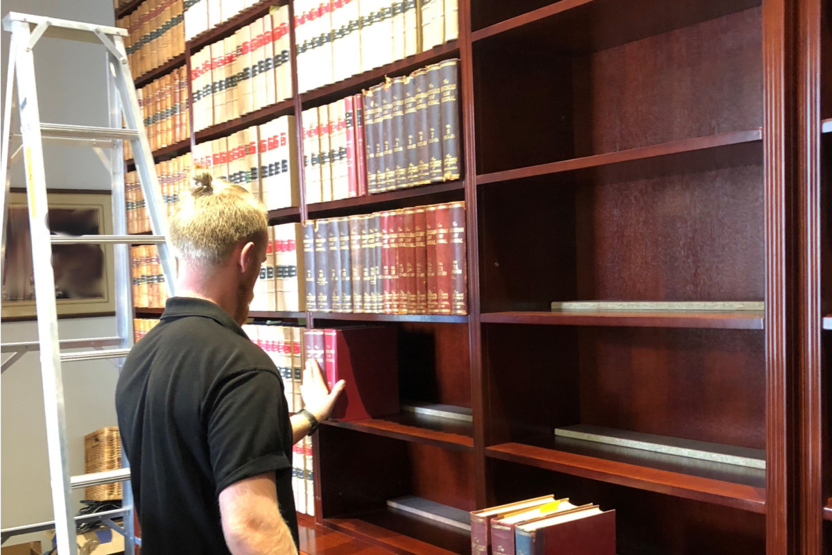 Relocating legal library