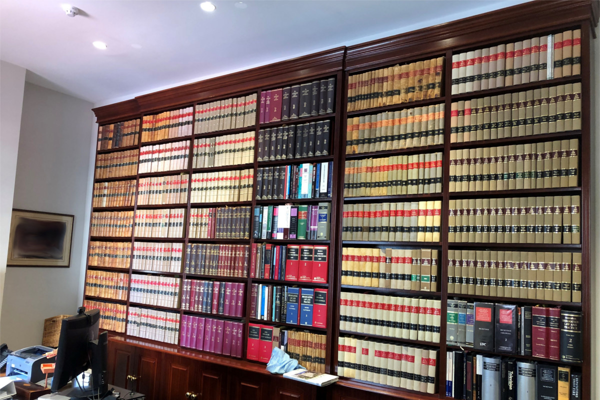 Law firm Library