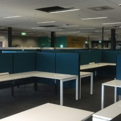 university office workstations