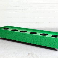 Flox Planter Box Large Green by Planex