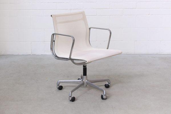 Eames Aluminium Management Chair by ICF White Mesch2