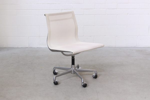 Eames Aluminium Side Chair White Mesh ICF1