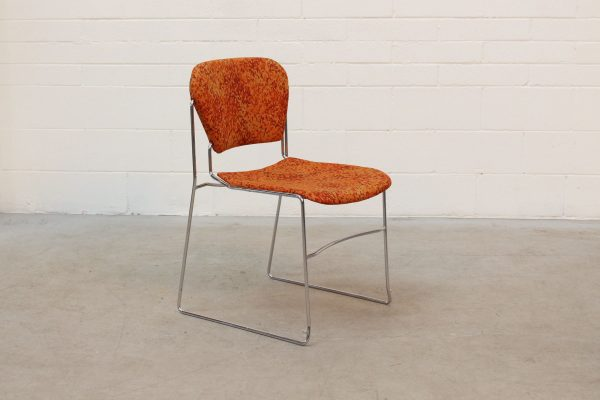 Perry Stack Chair Orange3