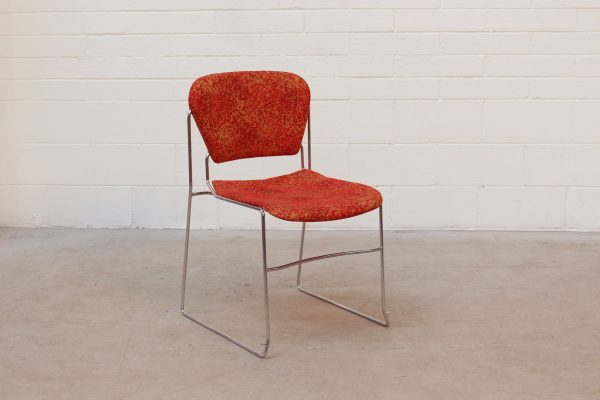 Perry Stack Chair KI Red1