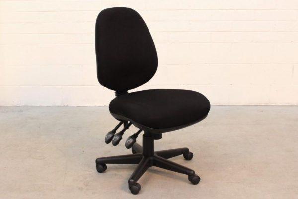 Black Clerical Chair