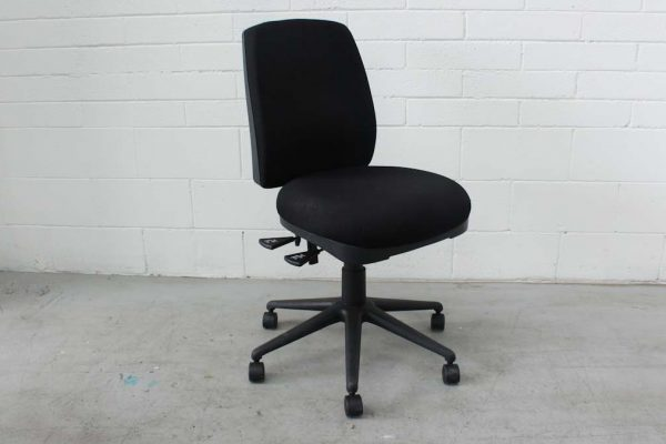 Black Clerical Chair