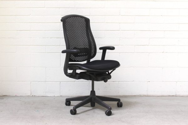 Celle Chair Herman Miller Black1