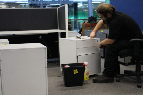 Recycling workstations and furniture