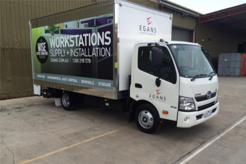 egans removal trucks