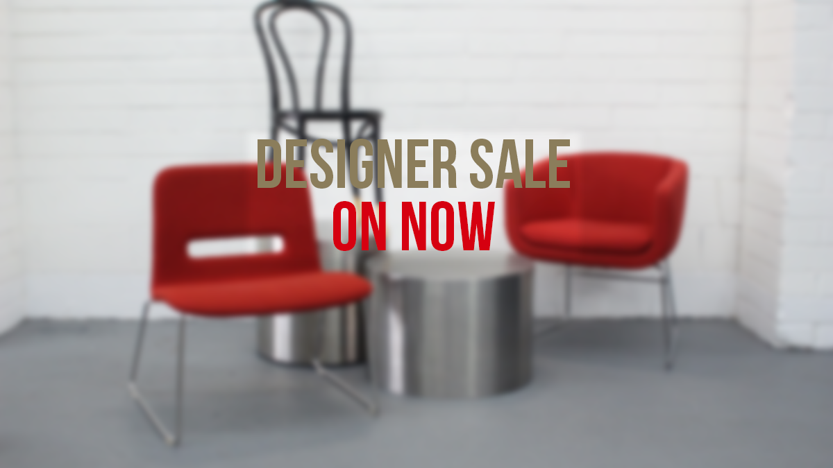 Designer sale on now