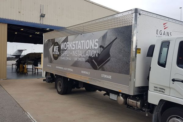 office workstation truck