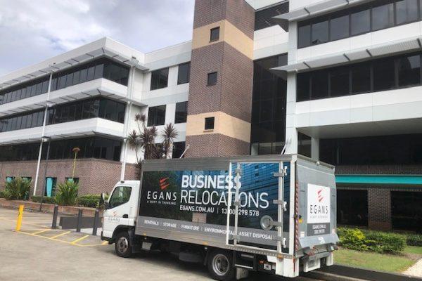 Egans truck Macquarie University